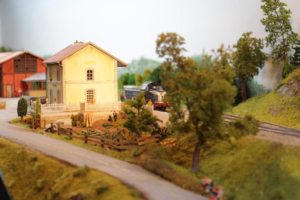 La ligne Caen - Flers... Avec le BV