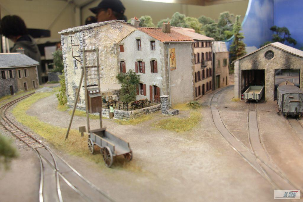 Réseau du Puy de Dôme - le village
