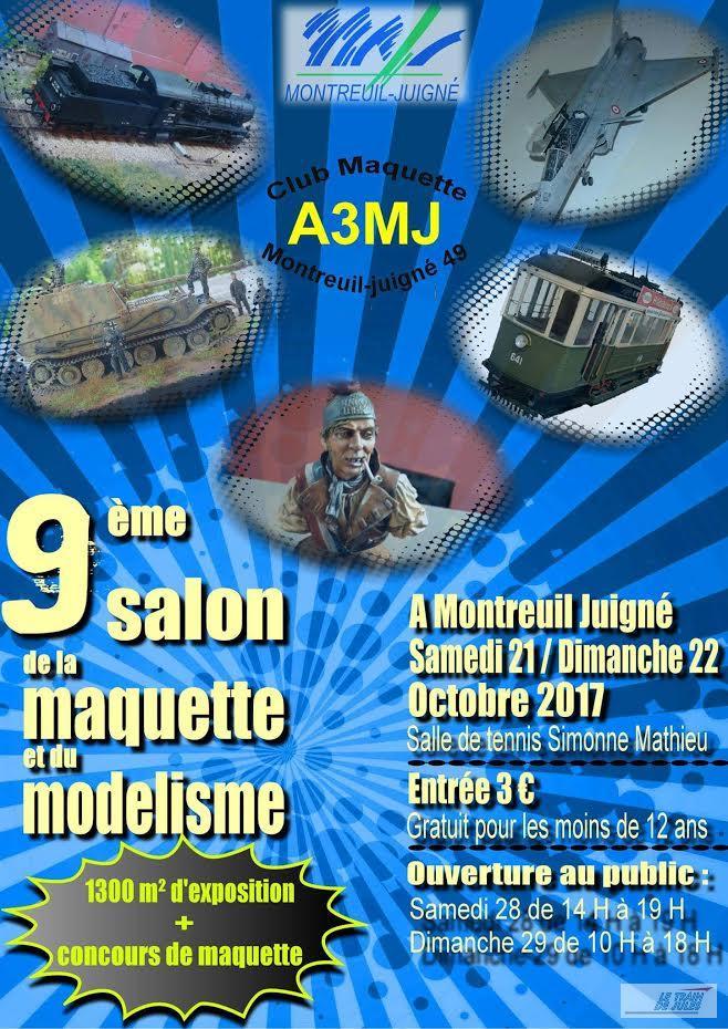 Affiche exposition Montreuil Juigné