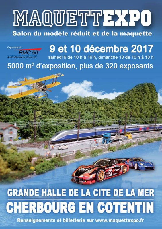 Affiche exposition Cherbourg 2017