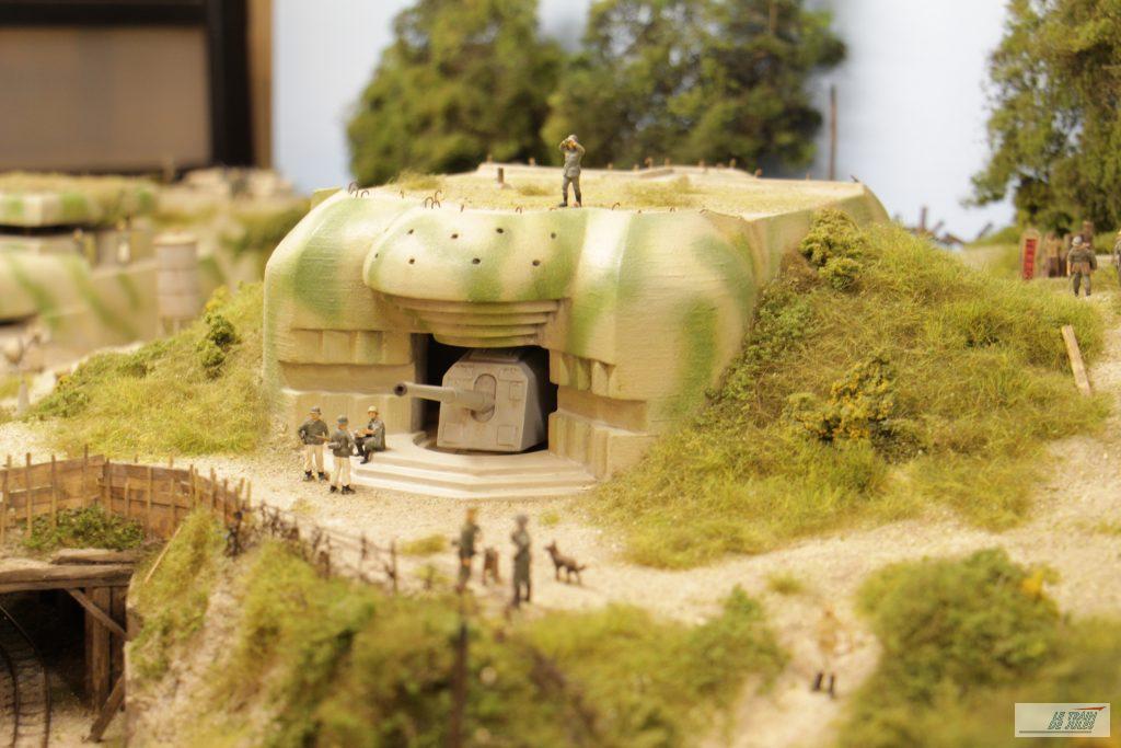 le blockhaus et son canon