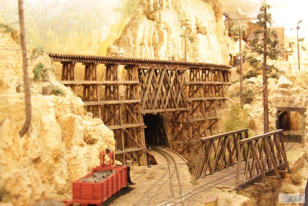 Purgatory peak le pont de bois.