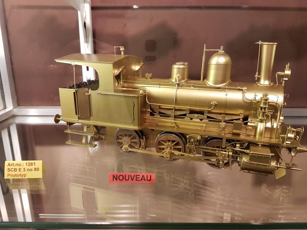 Prototype vapeur laiton Fulgurex.