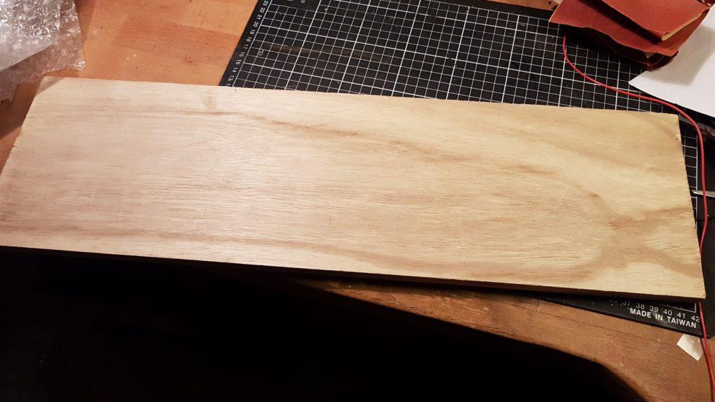 Belle planche de contreplaqué de 15mm