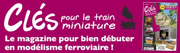 Logo du magazine de clés pour le train miniature.