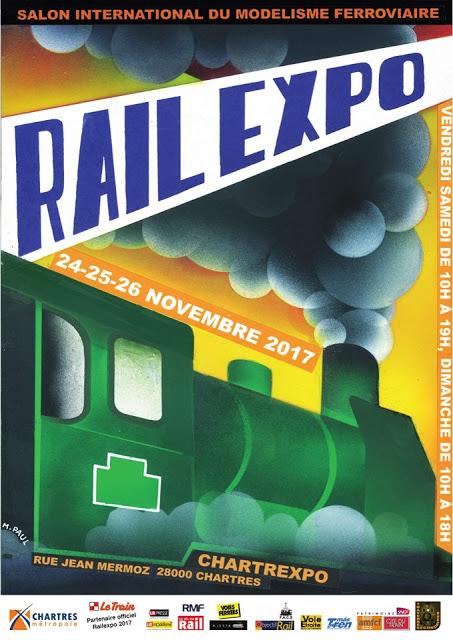 Affiche RailExpo 2017