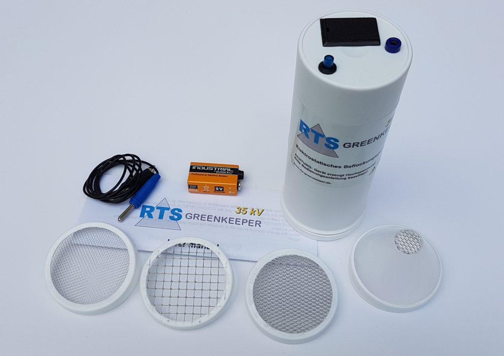 Le RTS-Greenkeeper l'ensemble de l'appareil.