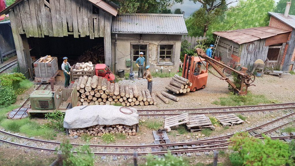Ramma 2017 - Fabrique de bouts de bois.