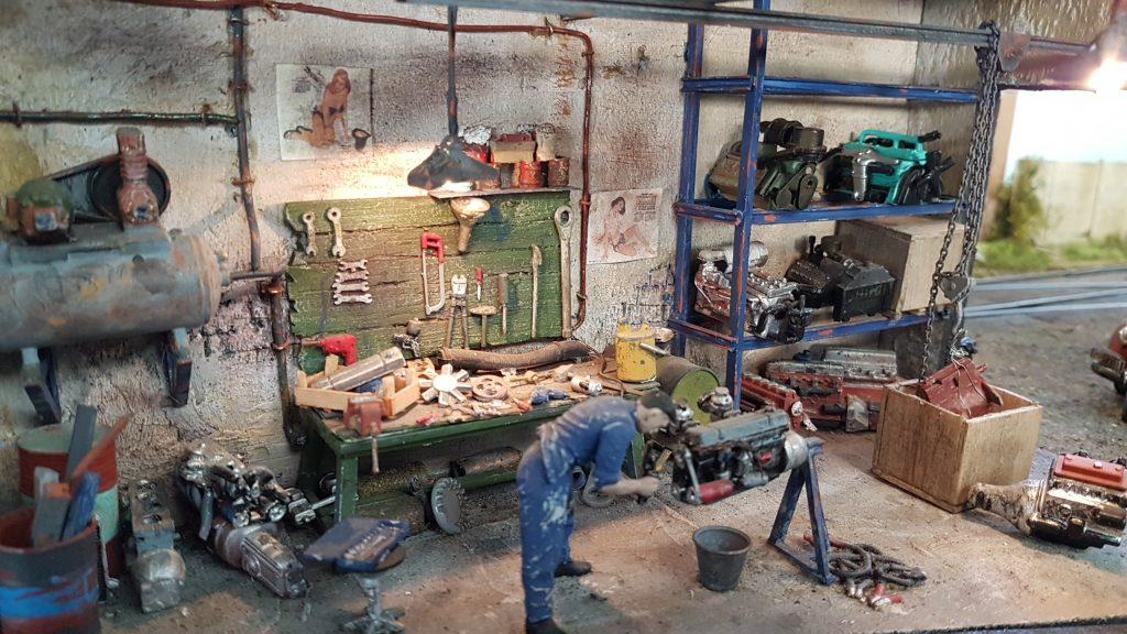Ramma 2017 - L'atelier et la réparation du moteur.