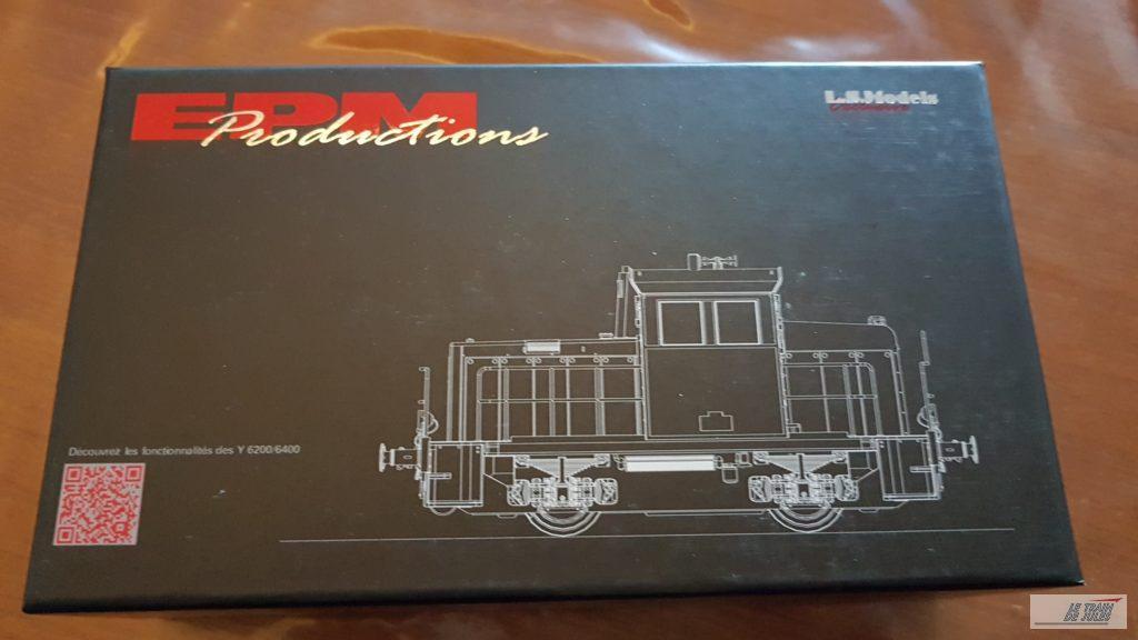 Boite Locotracteur EPM Y 6400