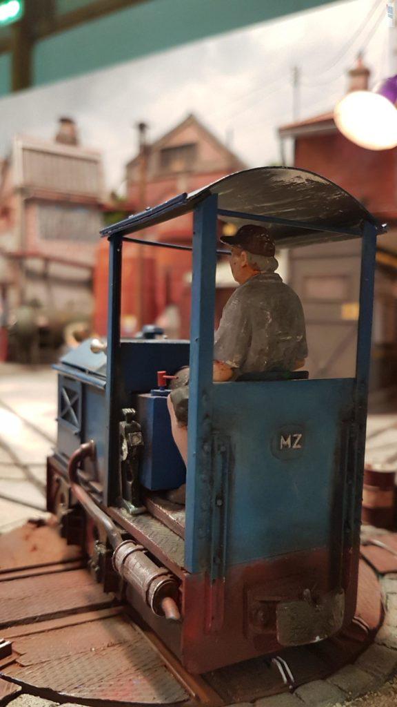 Arrière du locotracteur