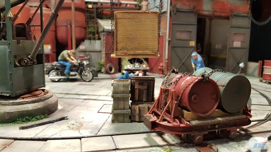 Wagons et tonneaux